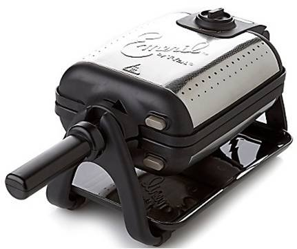 Emeril by T-fal WM752851 Waffle and Panini Maker with Interchangeable Plates, Silver
