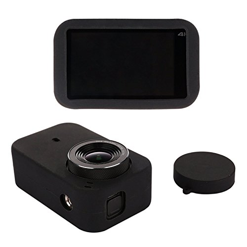 Accessories Kit for gopro Mini Action Camera Kit with Hard Storage Carry Hand Bag + Waterproof Housing Case + Frame Shell Cover + Silicone Skin Case Cover + Lens Cap + Protector Film