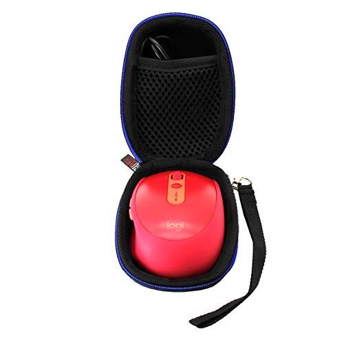 GUBEE Hart Reise Tasche Case für Logitech 910-005197 M590/M330 Silent kabellose Wireless Bluetooth Maus
