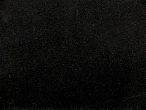Deko-Molton, schwer entflammbar, schwarz, 300cm