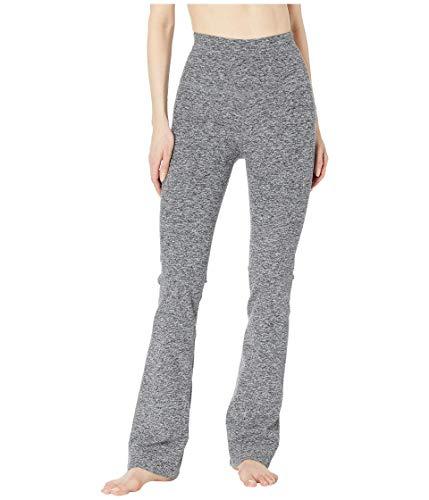 Beyond Yoga Women's High-Waisted Practice Pants Black/White Spacedye Medium 32