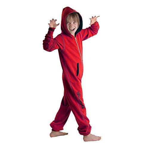 Strumpla Kids Onesie Jumpsuit Rot - Einteiler (104)