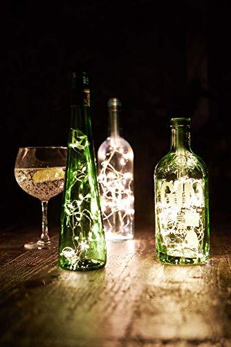 Talking Tables Boho Tapón para botella de luz, 20 LED, uno, multicolor