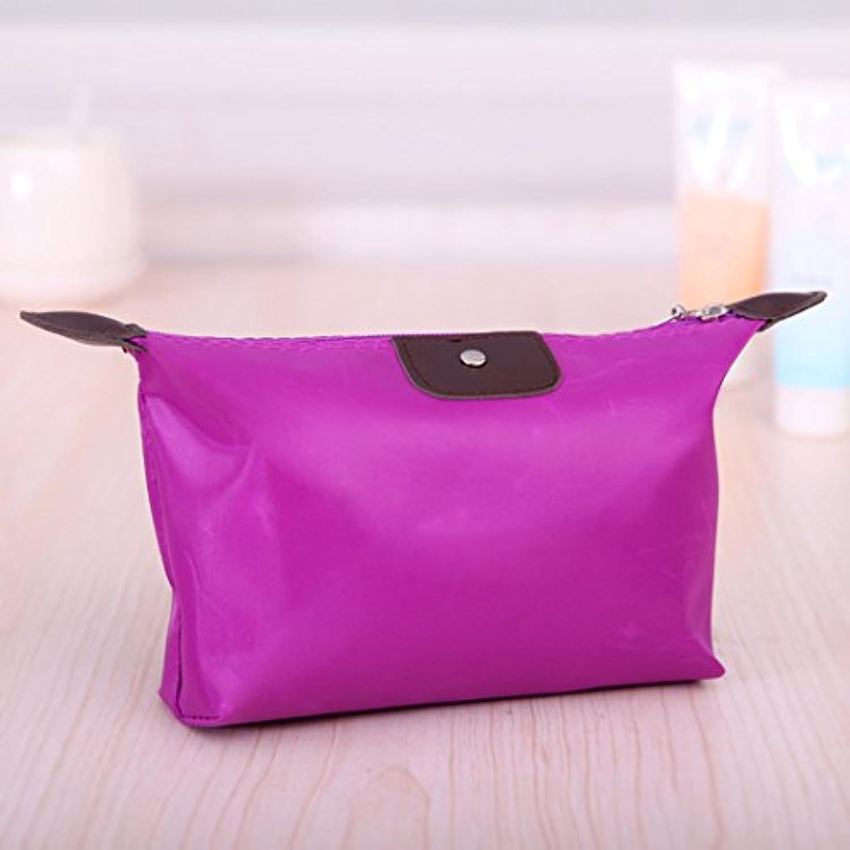 LULAN  Knödel - nettes bonbonfarbenen Make-up Bag, waschen waschen waschen Sie Ihre Hände das Mädchen reisen Paket erhalten, 17  6  13 cm, lilat B078J2VW98  Jahresendverkauf ab33de