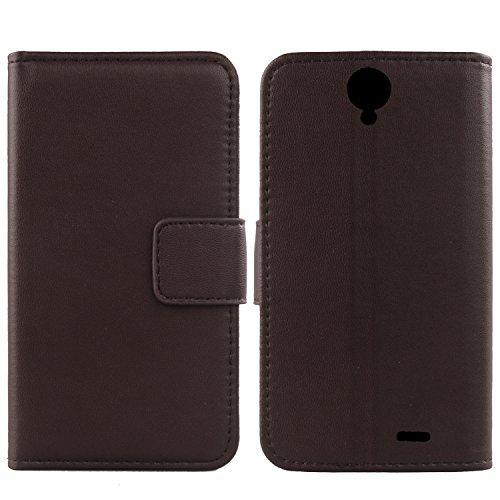 Gukas Design Echt Leder Tasche Für Archos 55 Helium Ultra 5.5