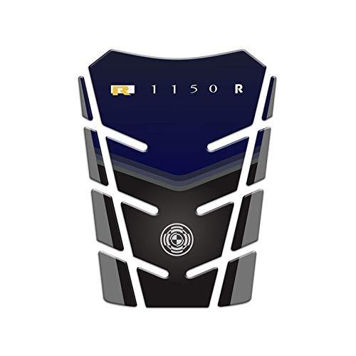 Carbon Fiber Fule Tank Sticker Tank Pad Tankpad For R1150R R1150RT (Color : Blue)
