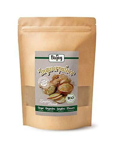 Biojoy Polvere di Zenzero biologico, prodotta dalle radici essiccate di Ginger biologica (0,5 kg)