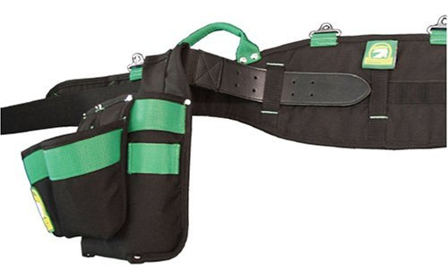 Gatorback 2XL Pro-Comfort Back Support Belt. 1250 Duratek Nylon Belt with Molded Air Channel Padding, Carrying Handles and Suspender Loops. Contractor Pro (2XL 45-49 Inch Waist)
