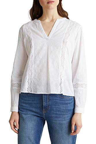 ESPRIT 030ee1f313 Camicia da Donna, 100 / Bianco, 36