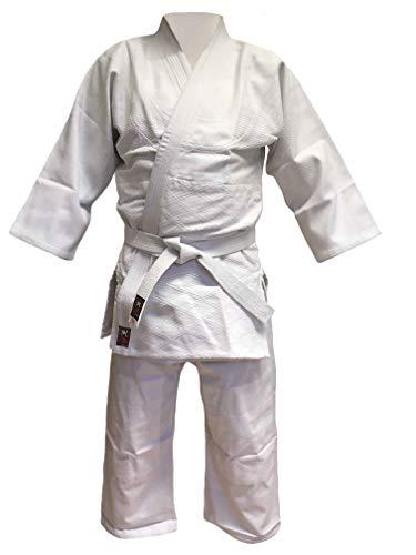 Budodrake Aikido Anzug Keiko-Gi AIKI Deluxe mit Elastikbund (180)