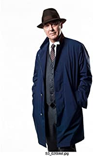 The Blacklist James Spader as Raymond Reddington Standing Promo Wearing Hat and Smiling 8 x 10 inch Photo
