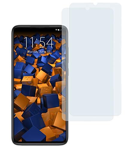 mumbi Schutzfolie kompatibel mit Xiaomi Redmi Note 8 Pro Folie klar, Bildschirmschutzfolie (2X)