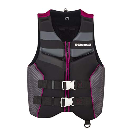 Sea-Doo 2021 Ladies' Airflow Life Jacket Ecoprene (Raspberry) 285940