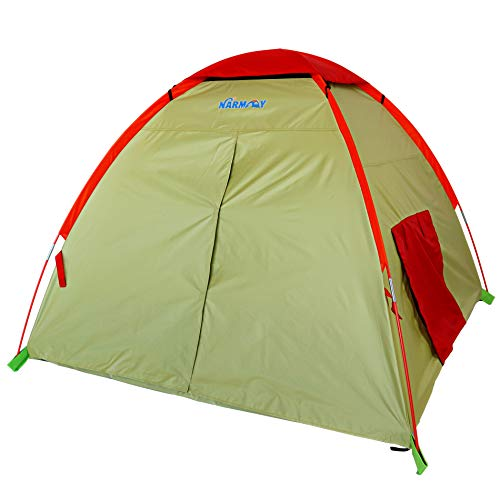 NARMAY Play Tent Outdoor Adventure Dome Tent for Kids Indoor / Outdoor Camping - 60 x 60 x 44 inch