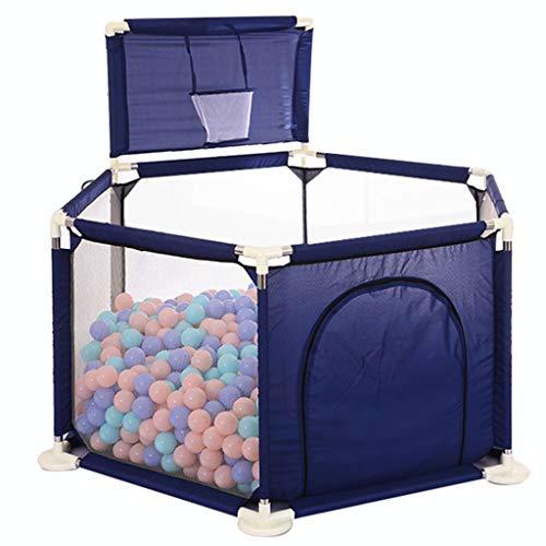 Baby Play Yard Tents Infant Playpens Sécurité Clôture de Protection Domestique avec Un Cadre de tir Assembled House Play Yard Home Clôture Intérieur Anti-Chute Play Pen