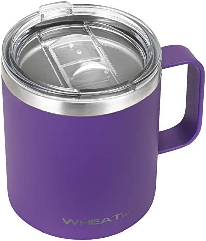 Stainless Steel Coffee Mug 12 oz Vacuum Insulated Tumbler with Handle Double Wall Tumbler Cup product image