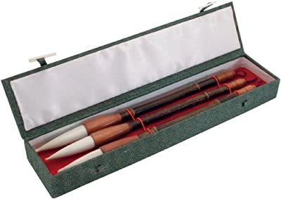 Art Advantage ART-S8729 3 Piece Wolf Hair Sumi Brush Set
