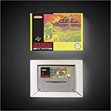 Game Card BS The Legend of Zeldaed Remix (Map 1 & Map 2) - EUR Version RPG Game Card Battery Save With Retail Box