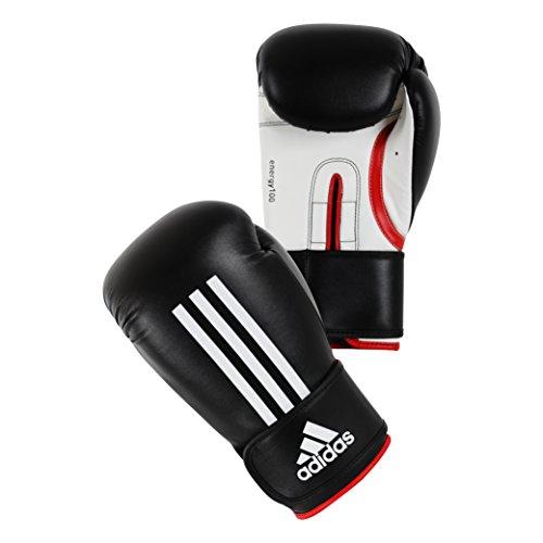 adidas Boxhandschuhe Energy 100, Schwarz, 8oz