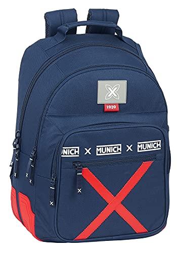 Safta Mochila Escolar de Munich Spike, 320x150x420 mm, Azul Marino