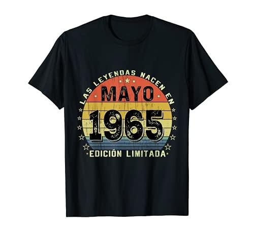 Nacido en Mayo de 1965 56 Años Cumpleaños Regalo para hombre Camiseta