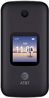 Alcatel SMARTFLIP 4052R | 4G LTE | 4GB Flip-Phone | Bluetooth, WiFi, Big Buttons | (GSM Unlocked) - Volcano Black