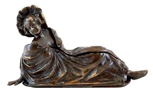 Kunst & Ambiente - Wiener Bronze - Bronzefigur - Mechanische aufklappbare Erotik Skulptur - Bergmann Stempel - Vienna - Wien Figur