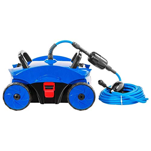Sale!! 9TRADING Robotic Rover Above/in Ground Swimming Pool Vacuum Cleaner Pool Robot Cleaner
