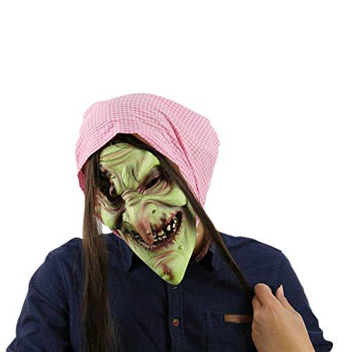 MYASOB Kostüm Kopf Maske Bühnenrequisiten Kopf Maske-Maskerade-Partei-Latex-Maske Cartoon-Schablonen-Gesicht Persönlichkeit (Color : Bronze)