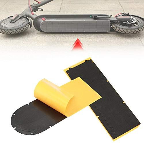 Jadeshay Scooter Bas-Couverture étanche Seal Ring Couverture Scooter électrique Batterie Bas Compatible avec Xiaomi M365