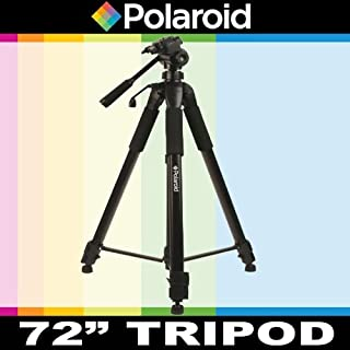 650D T5i 1100D T5 Polaroid Studio Series 64 Professional Tripod With Ultra Smooth Pan//Tilt Ball Head Includes Deluxe Tripod Carrying Case 100D T4i T3i 700D 1200D Additional Quick Release Plate For The Canon Digital EOS Rebel SL1 T3 600D