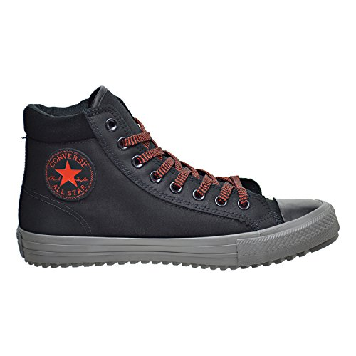 Converse Chuck Taylor All Star Boot PC HI Black/Charcoal Grey/Signal Red (4 D(M) US)