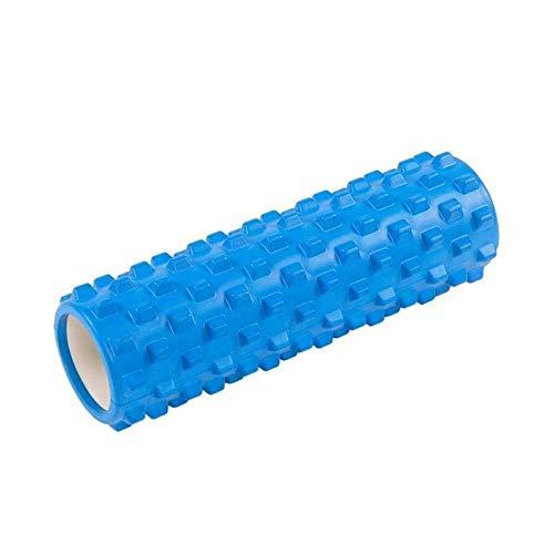 WYJW been-massageapparaat, schuimstofroller, verlicht de dichtheid van kuiten en isschiobenen, en bevrijdt de myofasciale spieren, blauw