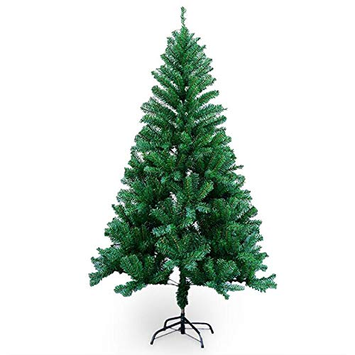 WJXBoos Premium Spruce Artificial Christmas Tree,150 180 210 240 Holiday Christmas Tree,Home Office Party Decoration Metal Stand-Pine 180cm(6ft)