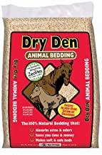 BEAR MOUNTAIN FOREST PRODUCTS FP64 Dry Den Pelletized Animal Bedding, 40lb