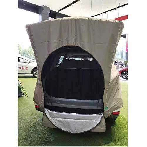 NanXi Tente De Camion De Camionnette Camping Voiture Queue Tente Voiture Pêche Tente Voiture Tente De Toit,Marron