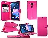 PIXFAB HTC U12+ Plus New Premium Leather Flip Wallet Phone