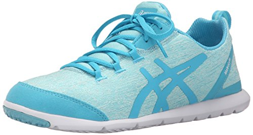ASICS Women's Metrolyte-W, Light Grey/Silver/White, 8.5 M US