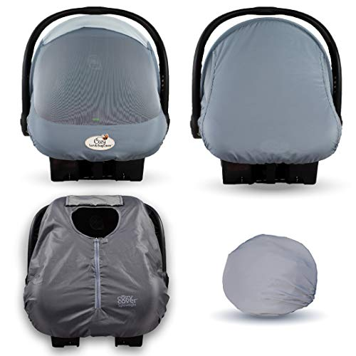 Cozy Combo Pack (Glacier Gray) – Sun & Bug Cover Plus a...