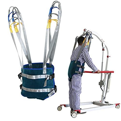 BrightFootBook Eslinga De Elevación, Marcha Asistida De Pie, Eslinga De Elevación para Caminar, 400 LB. Capacidad De Peso, para Bariátrico, Enfermería, Cuidador, Ancianos, Discapacitados,L