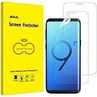 Jetech Protector de Pantalla Compatible Samsung Galaxy S9 Plus S9+ (NO para S9), Alta Definición TPU, Compatible con Funda, 2 Unidades