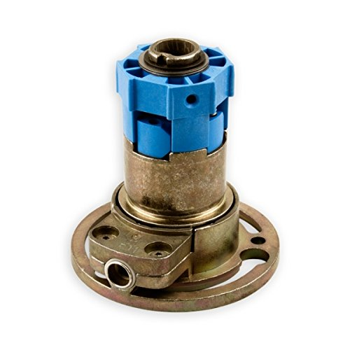 DIWARO® K020 Rolladengetriebe | Untersetzung 3:1 Rechts | Antrieb 6mm Innenvierkant | Kurbelgetriebe, Kegelradgetriebe für SW 40 Rolladen Stahlwelle