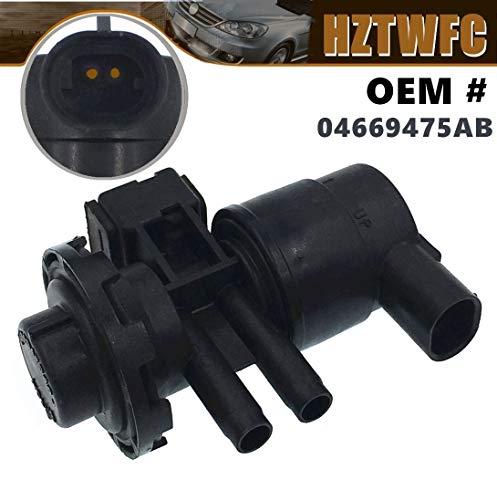 HZTWFC Evap Vapor Canister Purge Solenoid Fuel Purge Valve 04669475AB Compatible for Jeep Cherokee Wrangler Dodge RAM 1500 Dakota