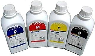مجموعة أحبار إعادة التعبئة للطابعات - 4 ألوان مخصص للطابعات Refill ink 4 colors for printer