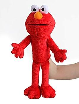 illuOKey Elmo Hand Puppet The Sesame Street TV Series Soft Stuffed Plush Toy 20 inches