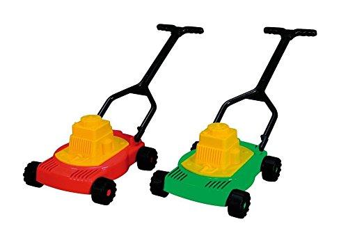 Kinder Rasenmäher Standard Mini Mäher Garten Spielzeug Kind (Rot)