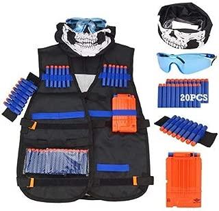 K Lightning Tactical Vest Kit for Nerf Guns N-Strike Elite Series