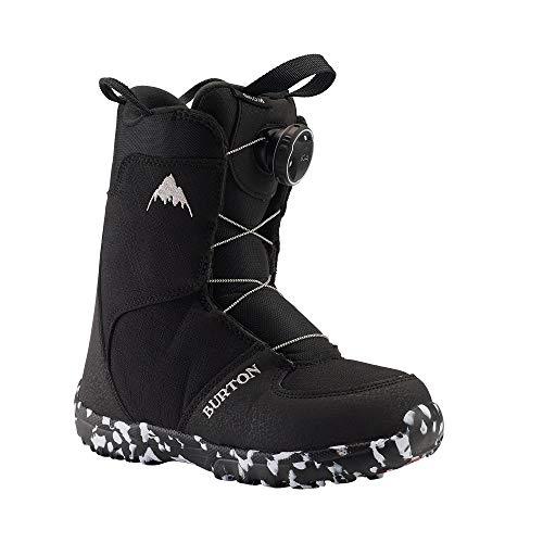 Burton Grom Boa Snowboard Boot - Kids' Black, 11.0