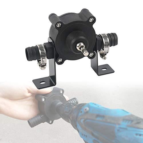 Hahuha Luftpumpe, Elektrische Bohrantriebspumpe Öl Wasser Flüssigkeit Miniatur selbstansaugende Transferpumpe, Werkzeuge & Heimwerker