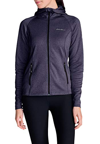 Eddie Bauer Damen High Route Fleecejacke, Gr. XS (32), Boysenbeere
